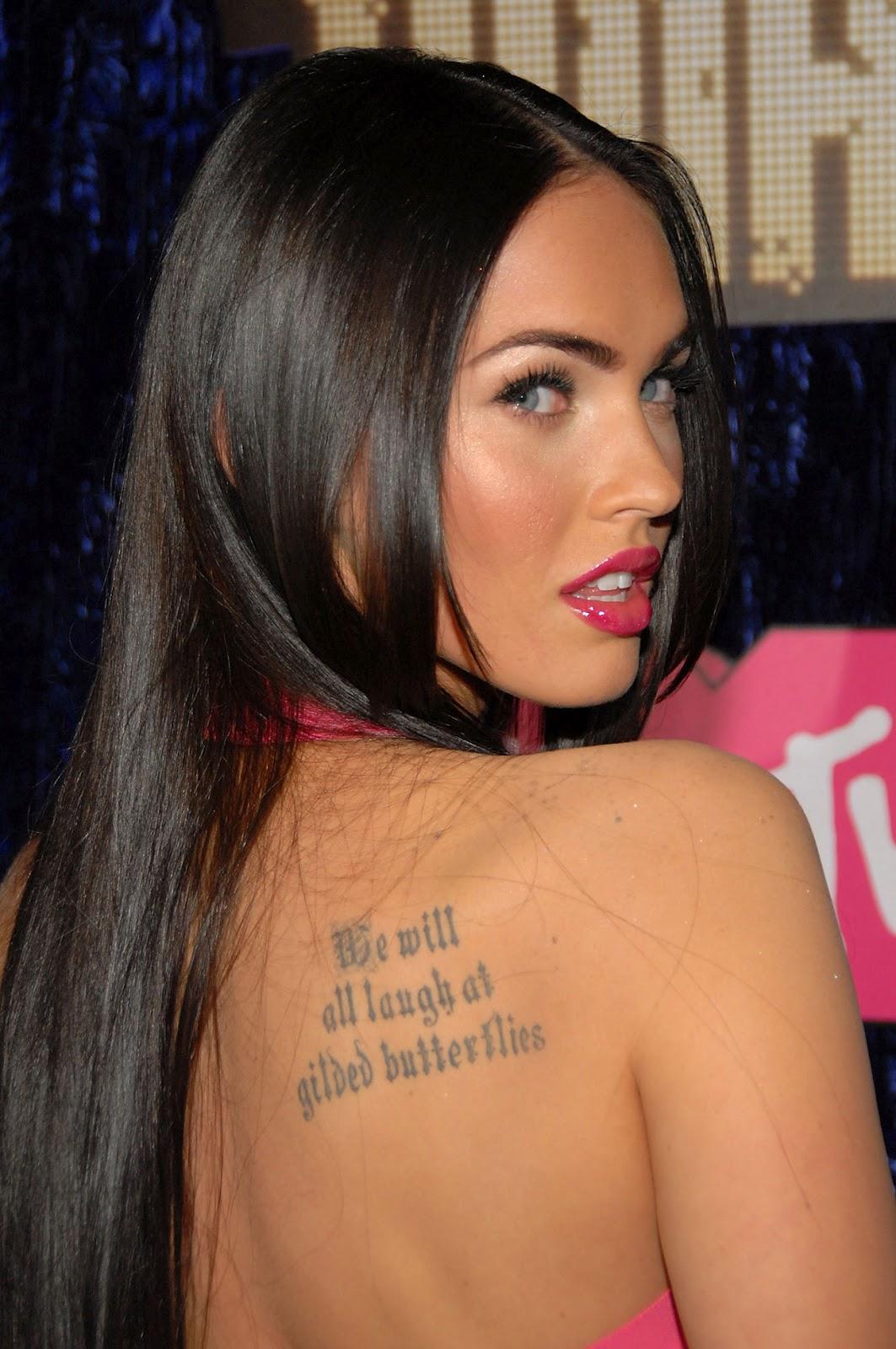 Megan Fox Tattoo Font