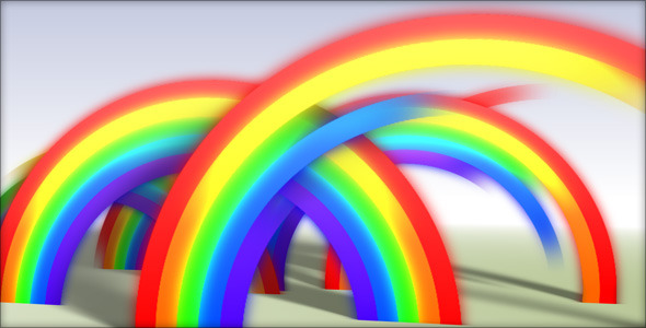 Videohive Rainbow Reveal