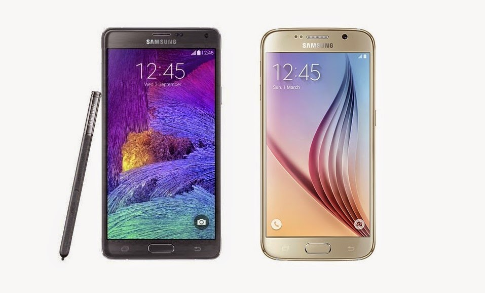 Samsung Galaxy Note 4 vs. Samsung Galaxy S6