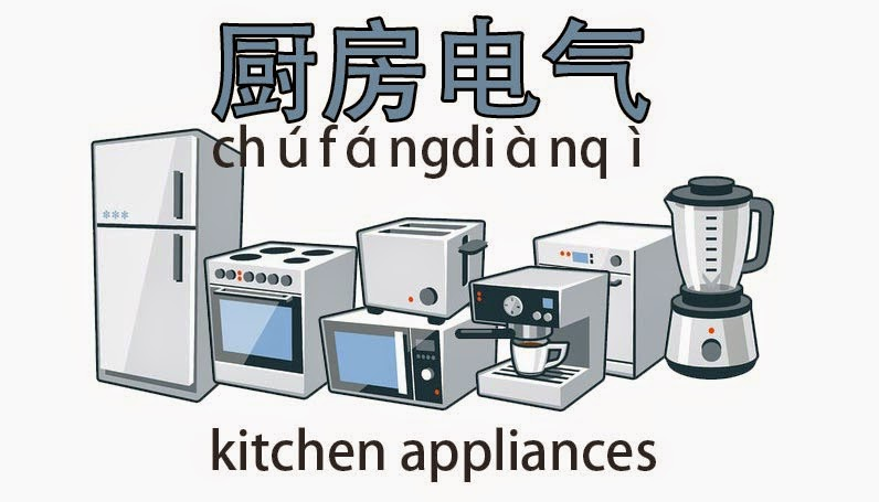 Kitchen Appliances Names ~ The gallery for gt kitchen appliances names