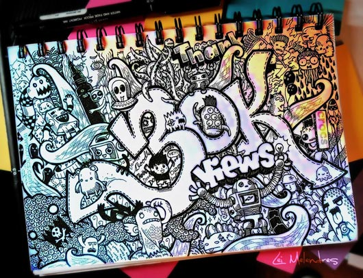 Easy Doodle Art Designs : Doodle art : 40 awesome inspiration examples jayce o yesta