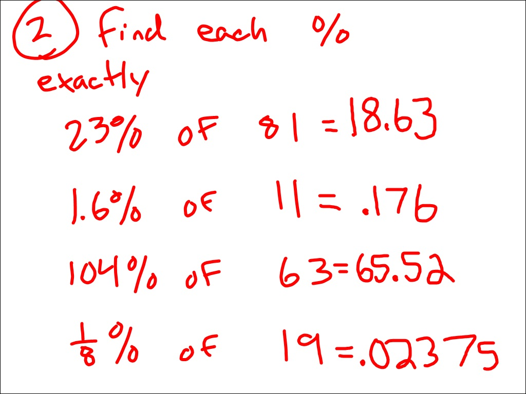 how to find 13 percent of a number