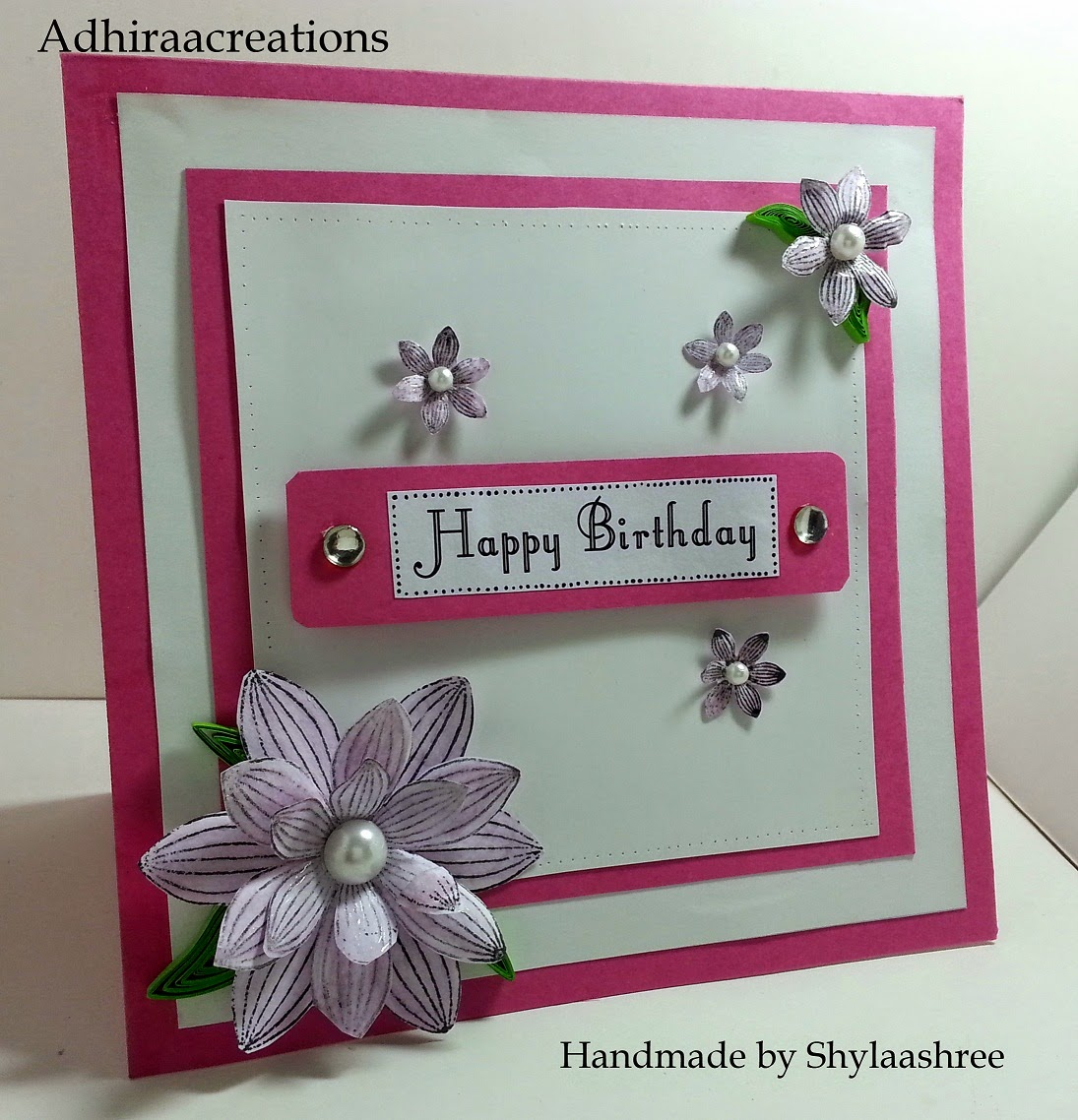 http://adhiraacreations.blogspot.com/2015/01/floral-birthday.html
