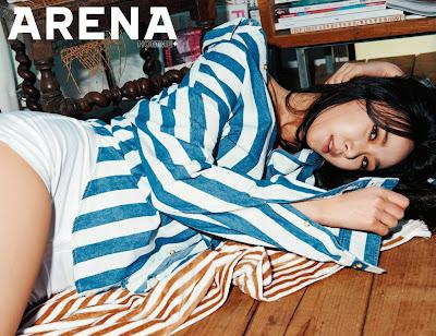 Nine Muses - Arena Homme Plus Magazine April Issue 2015