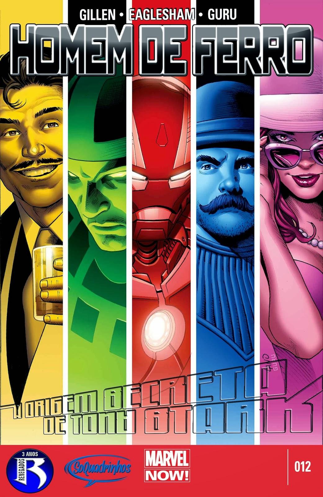 Nova Marvel! Homem de Ferro v6 #12