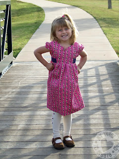Simplicity 2320 Project Runway Girls Dress