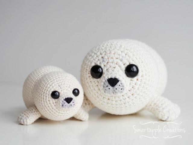 Free Crochet Amigurumi Seal Pattern : Smartapple Creations - amigurumi and crochet: New pattern ...