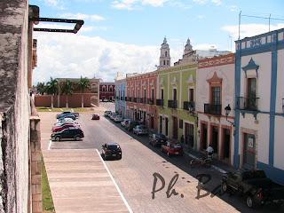 paysages du Mexique Campeche Yucatan ville coloniale blog voyage photos