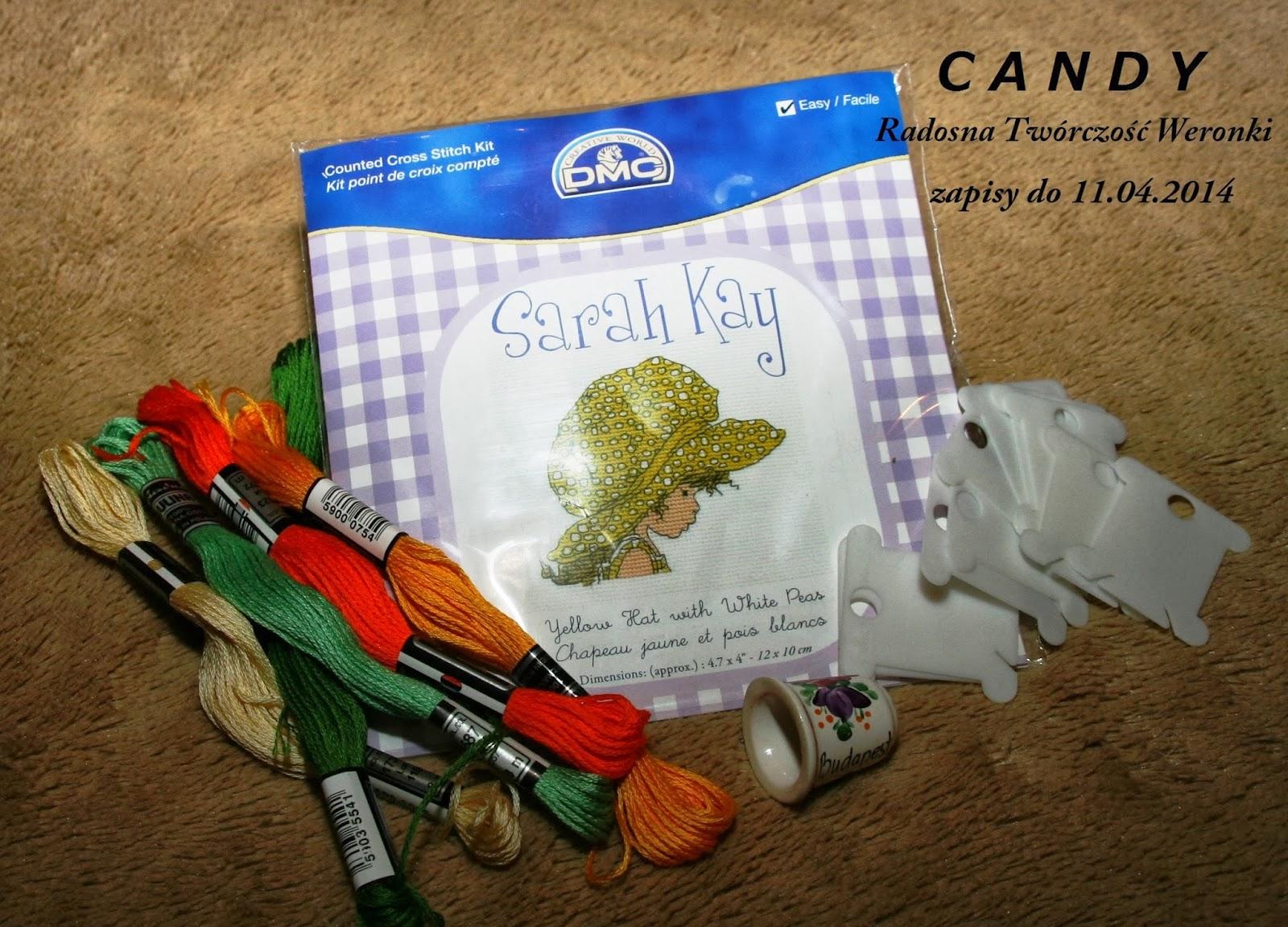 Wygrałam! :) Radosna twórczość Weronki - Candy [11.04.2014]