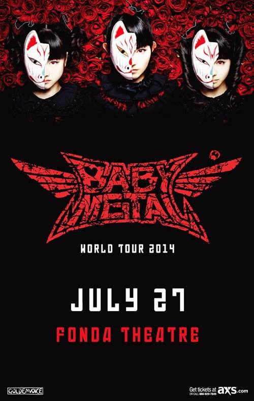 BABYMETAL First Ever Headlining Gig in LA!!