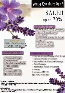 Promotion at Yoyoy Kamphora Spa.