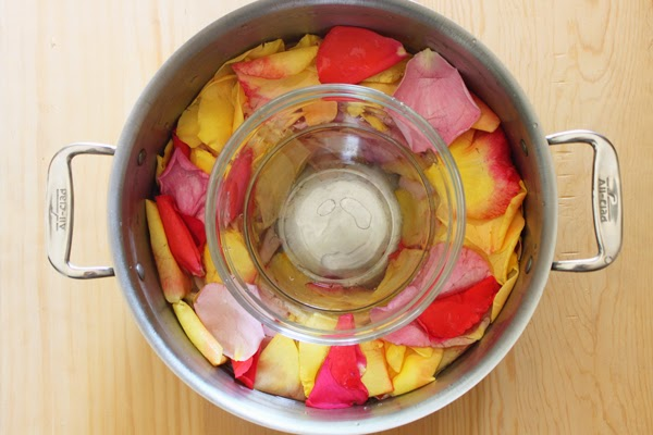 Create your own still to make rose water
