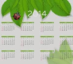 2014 Year Calendar Printable