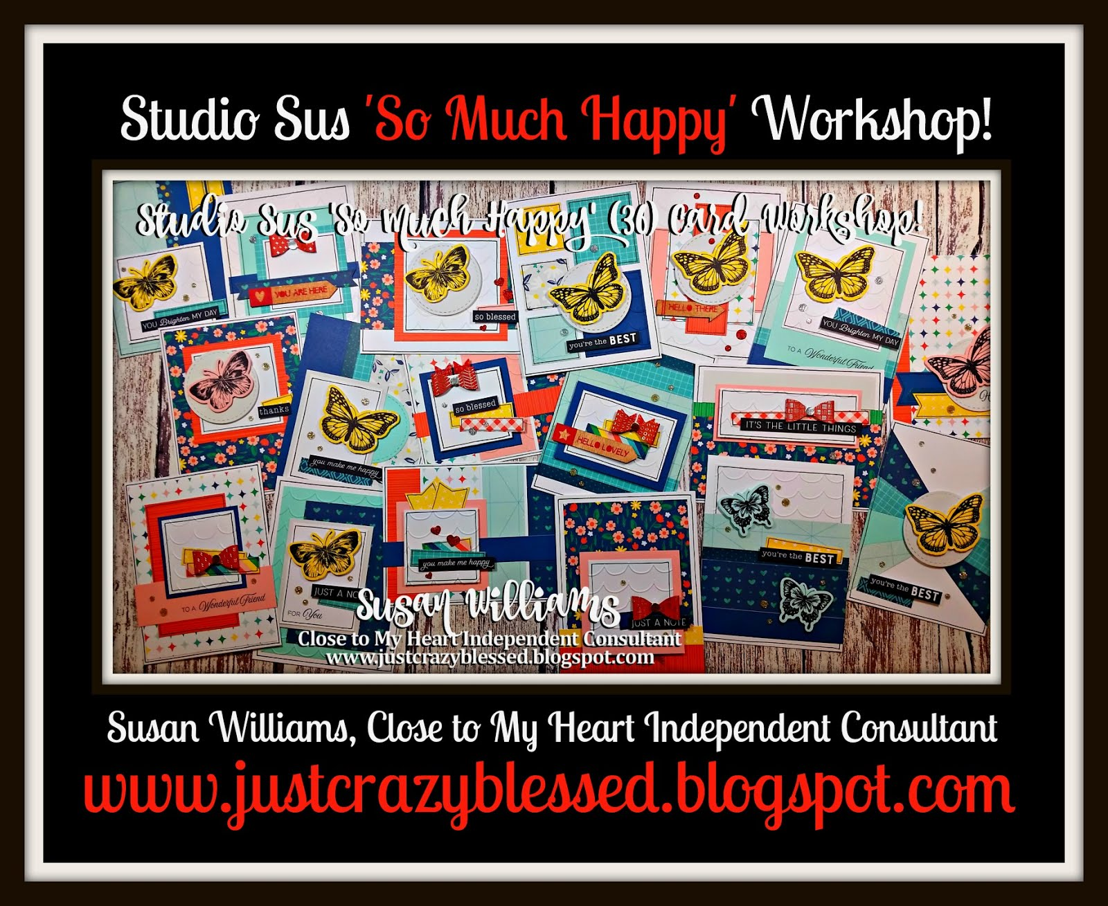 'So Much Happy' Cardmaking Workshop!