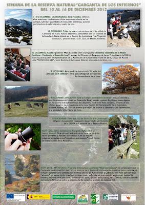 I Semana de la Reserva Natural de la Garganta de los Infiernos