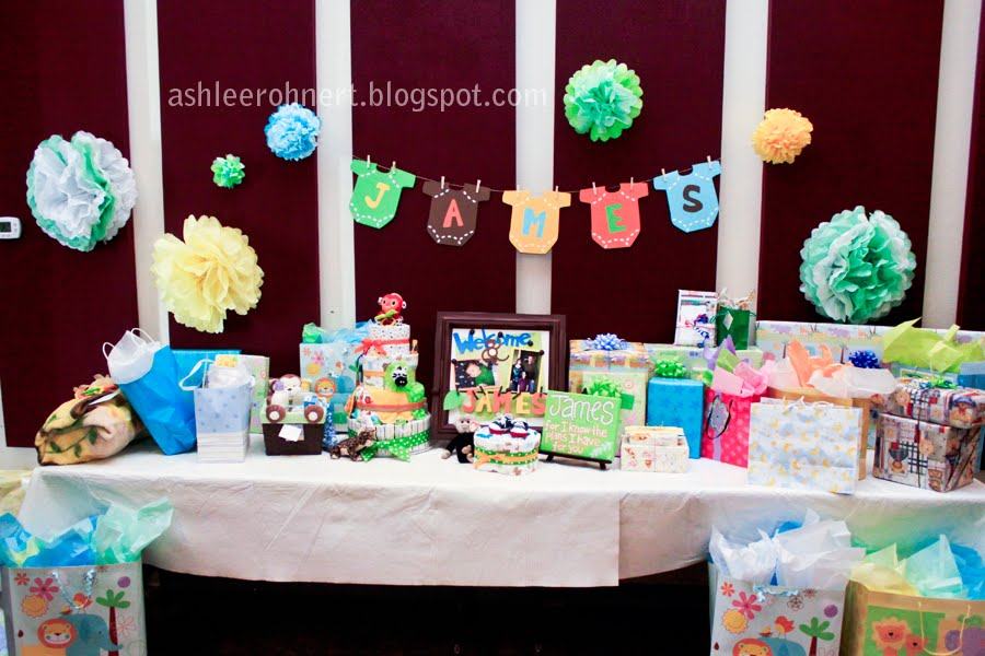 the lovelee girl: baby shower