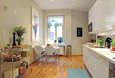 dapur cantik7 30 Ide Desain Dapur yang Cantik dan Menarik