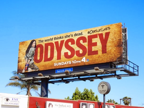 Odyssey series premiere billboard