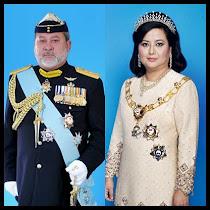 DYMM Sultan Johor dan DYMM Raja Zarith Sofea bt Almarhum Sultan Idris Shah