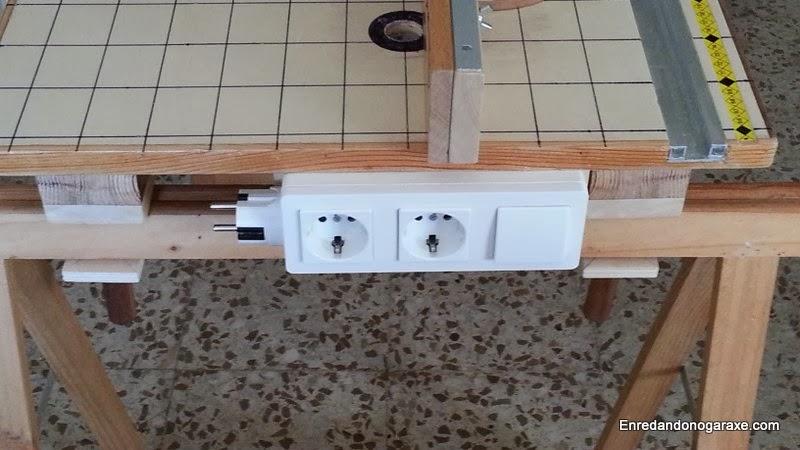 Interruptor mesa multifunción. Enredandonogaraxe.com