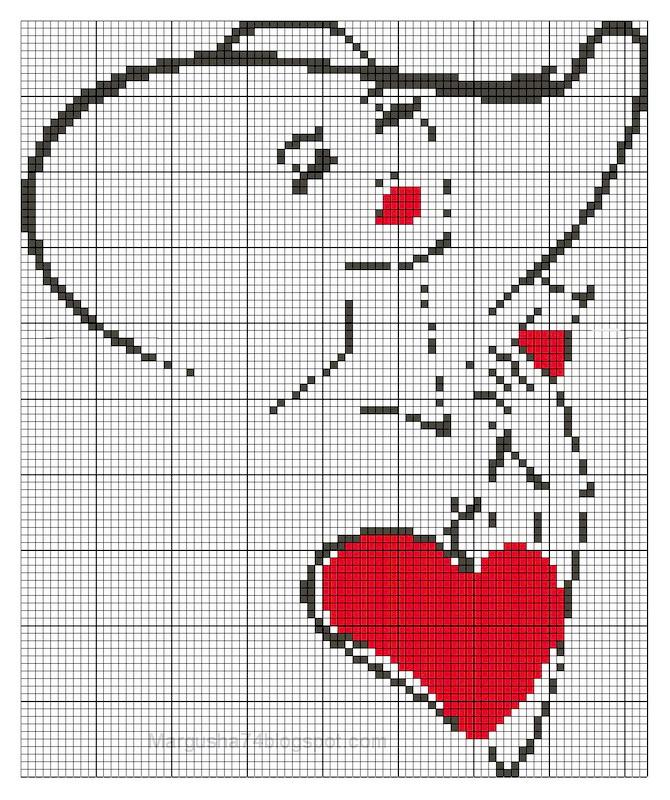 Вышивка крестом схемы летучие мыши.