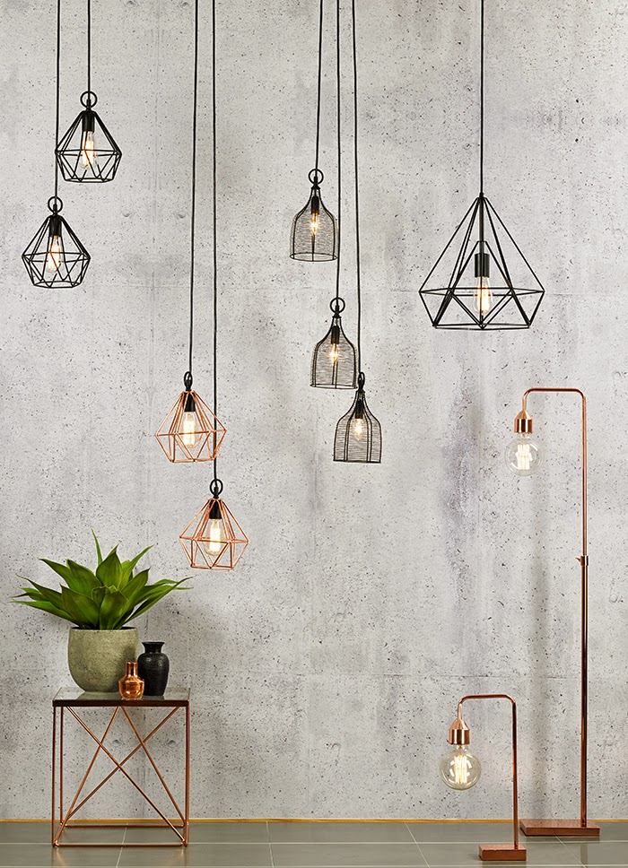 The style index for Amalfi sly floor lamp copper