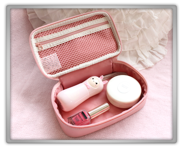 KPOPTOWN Etude House Haul Review kpop etude house beauty blog blogger feel the world pouch china