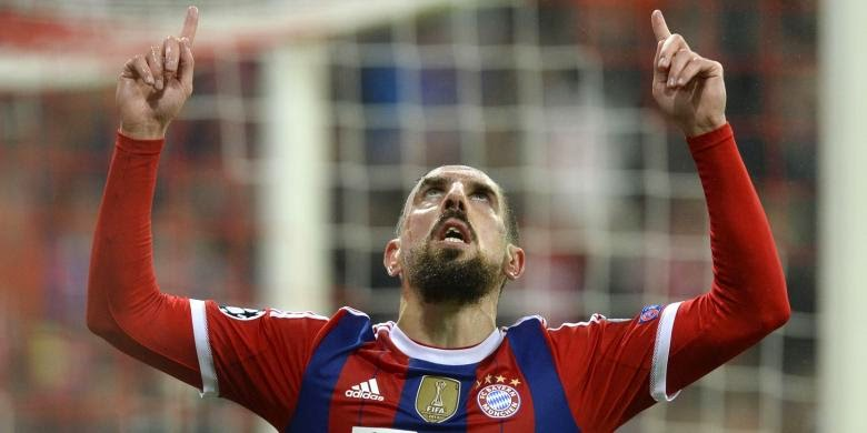 Liga Champions : Bayern Muenchen vs AS Roma 2-0