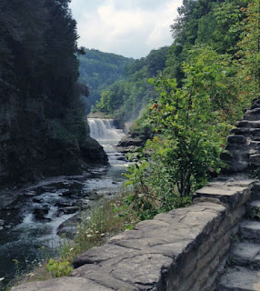 Letchworth State Park, Lower Falls