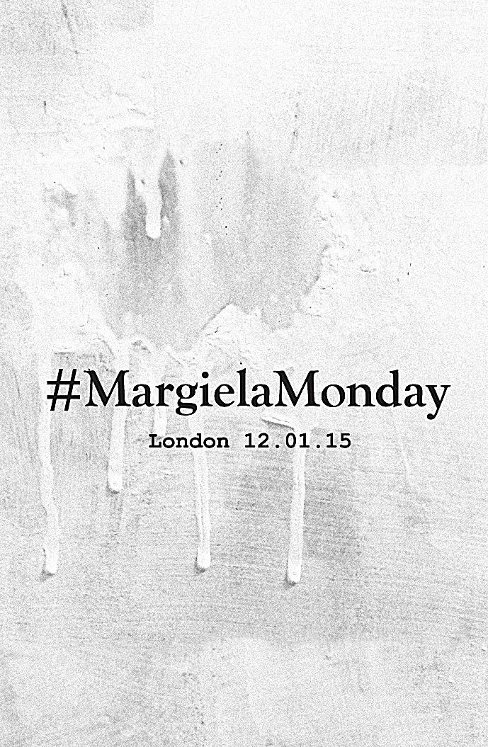 via fashioned by love: #MargielaMonday | John Galliano Maison Martin Margiela Couture February 2015 | London