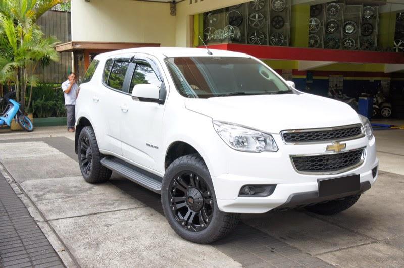 Modifikasi Mobil Chevrolet Trailblazer 2014