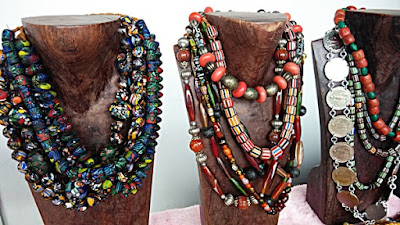 Assorted native beads necklace at BIBCo Kuching
