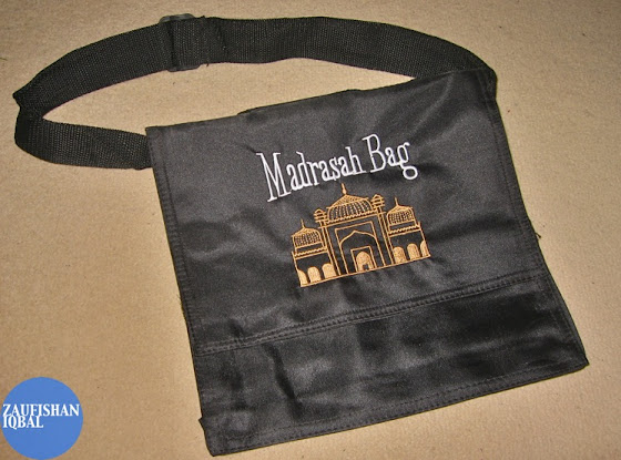 masrasa mosque school book bag