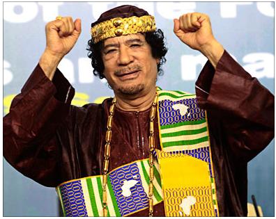 الاخ القائد لم يكن خائن اوعميل ... بل ملك ملوك افريقيا ..! King