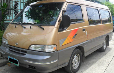 Van for rent in Cebu