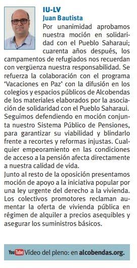 SieteDías Portavoz IU #Alcobendas