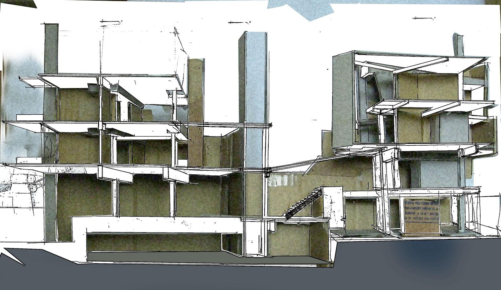 C tedra pedemonte arquitectura 2 a2 sobre cortes for Arquitectura nota de corte