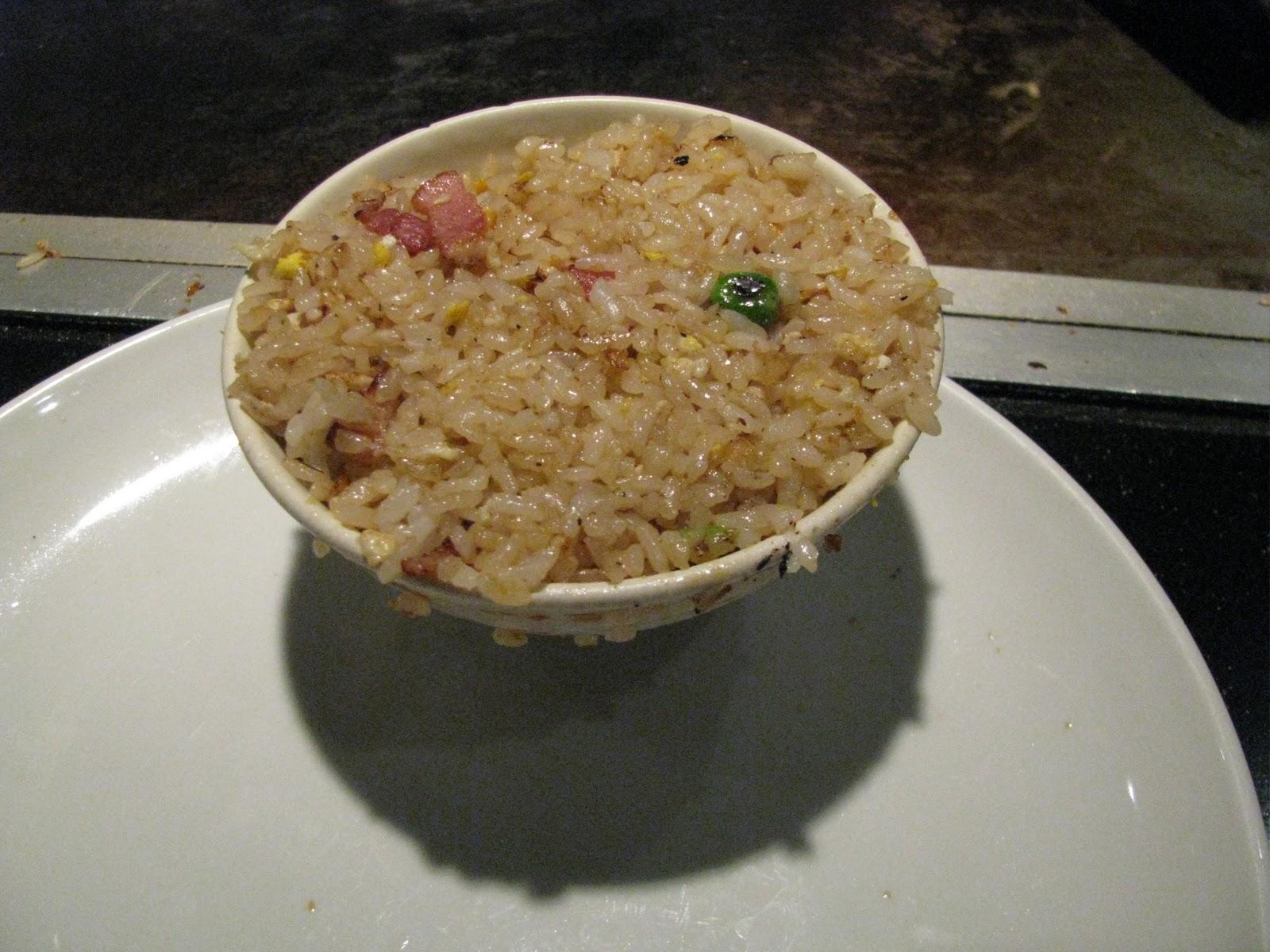 Corrie food teppanyaki at sakura chaya fresno ca fried rice is always good at teppan yaki places ccuart Gallery
