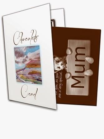 Bear Mum Chocolate Greetings Card