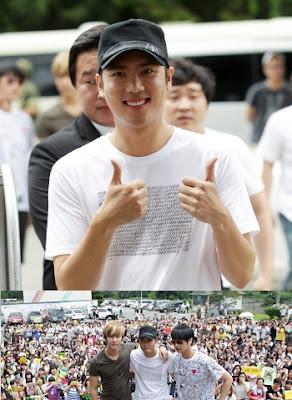 Kim Kyu Jong SS501 Wajib Militer
