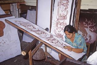 Batik festés