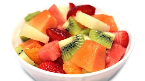 Una alimentaci n saludable para nuestros peque os recetas - Macedonia de frutas para ninos ...
