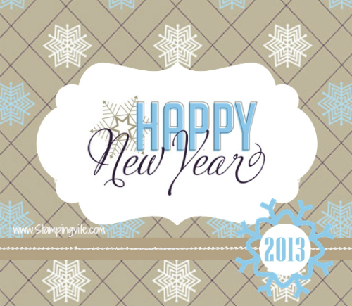 Happy New Year 2013 Graphic
