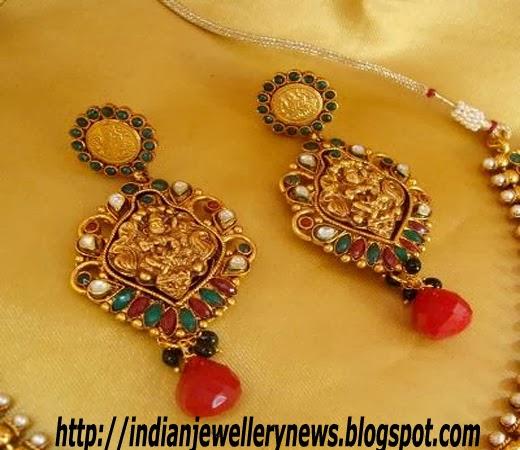 Polki Temple Jewellery