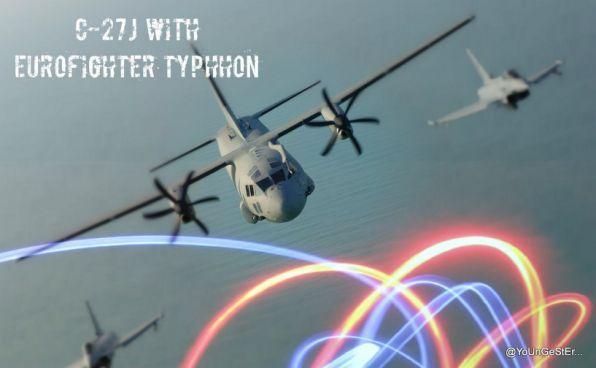Bersama eurofighter typhhon