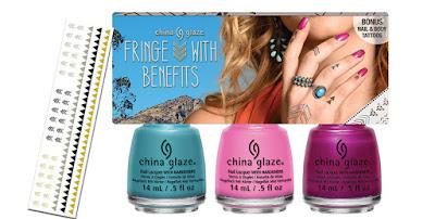 China Glaze Desert Escape - Fringe With Benefits Set