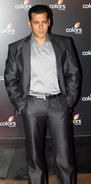 Salman Khan at Colors IAA Leadership Awards