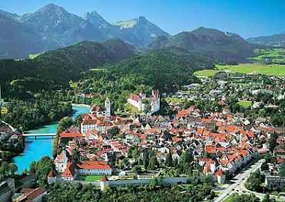 Fussen, Germania - Un loc linistit