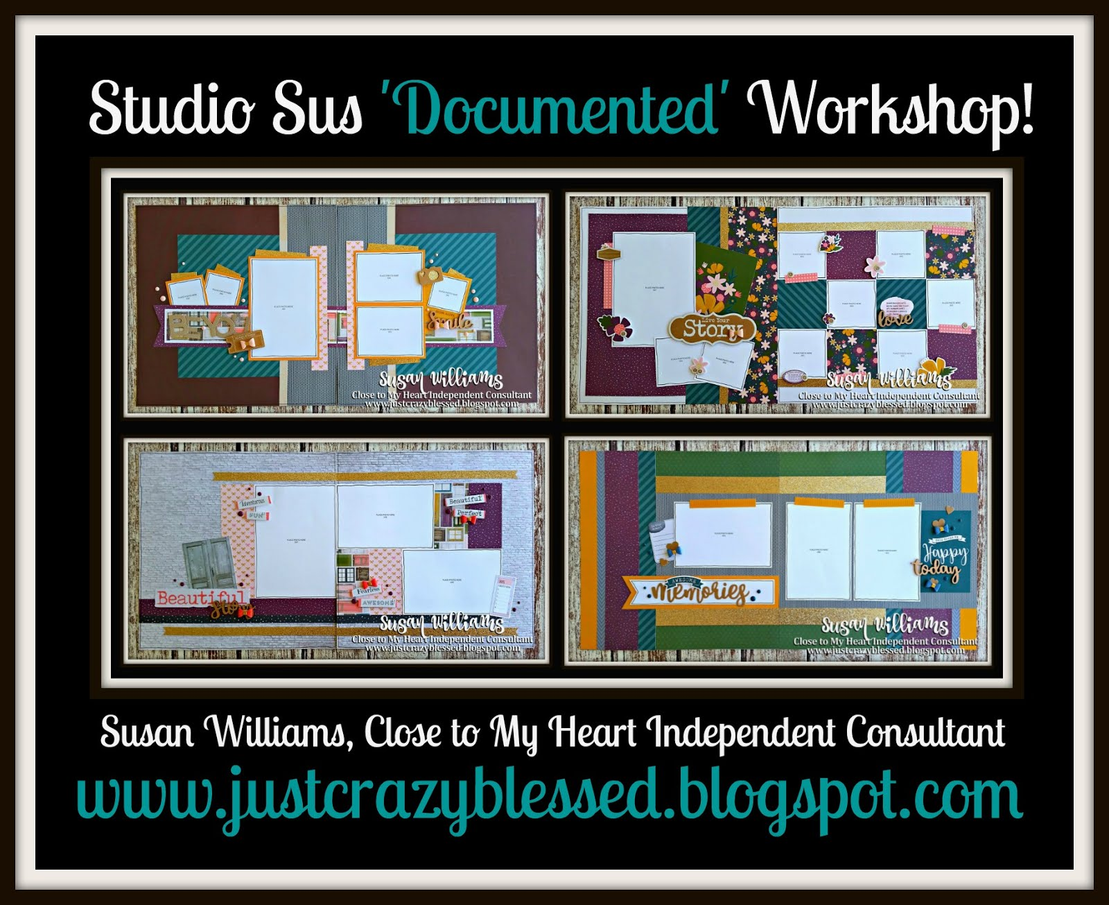 'Documented' Scrapbooking Workshop!