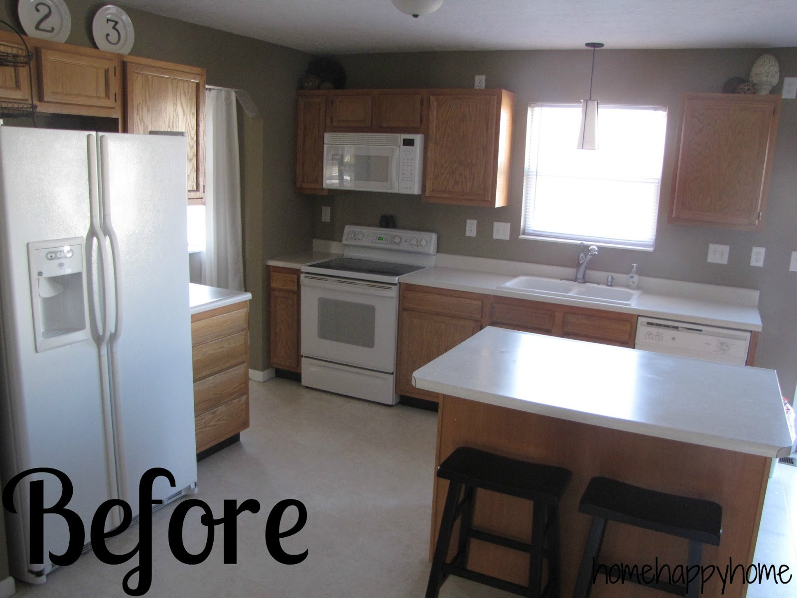 Http Homehappyhome Blogspot Com 2013 02 Kitchen Remodel Progress Html